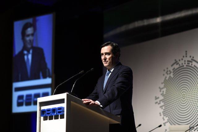 Proclamación de Antonio Garamendi como presidente la CEOE