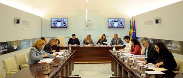 Reunión de la Junta de Portavoces de la Asamblea de Extremadura