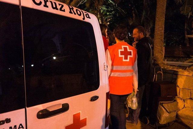 Nota Prensa Cruz Roja Málaga Personas Sin Hogar
