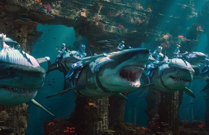"""Primeras y positivas opiniones de Aquaman: """"Es como un Star Wars submarino"""""""