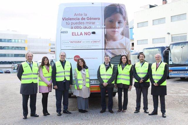 Alsa se une a la campaña de Fundación Integra