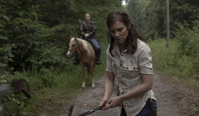 Lauren Cohan (Maggie) en The Walking Dead