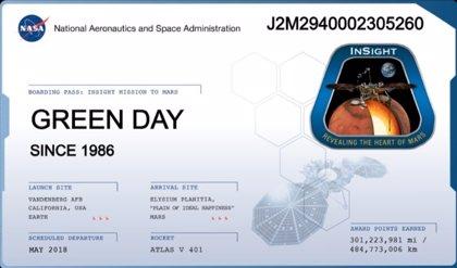 Green Day 'aterriza' en Marte