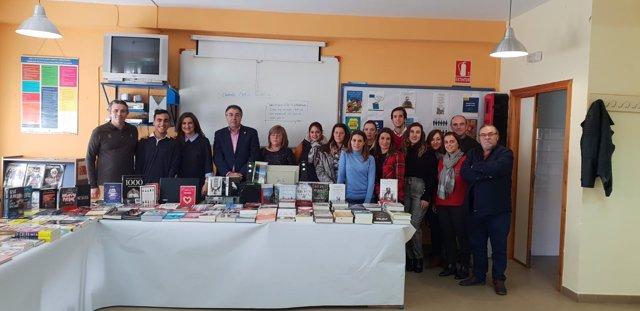 Feria del libro en el IES San Juan Bautista