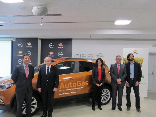 Opel y Repsol han presentado hoy las ventajas del AutoGas