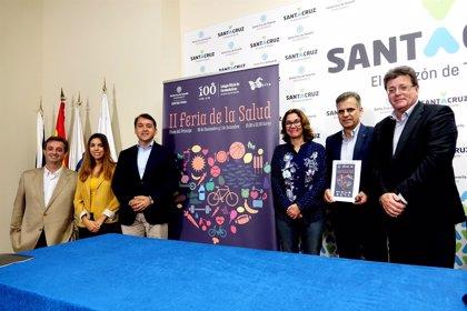 Santa Cruz promociona hábitos de vida saludable con una nueva edición de la Feria de la Salud