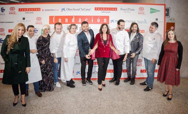 Participantes en 'Estrellas por la ciencia', de la Fundación Isabel Gemio