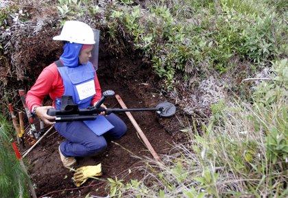 Las víctimas de las minas antipersona en Colombia se disparan un 245% en el último año