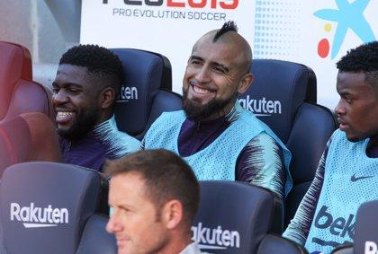 """Arturo Vidal: """"Estoy mucho más contento y espero seguir jugando"""""""