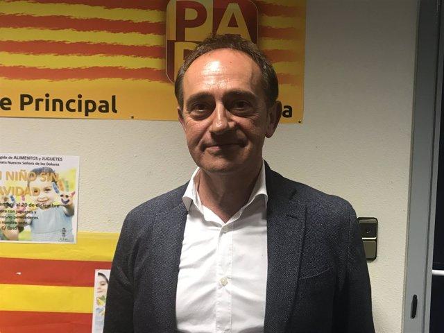 arturo aliaga candidato del par a la presidencia del gobierno de