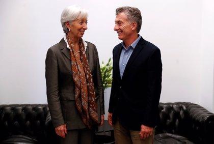 Macri recibirá a la presidenta del FMI el sábado en la Casa Rosada