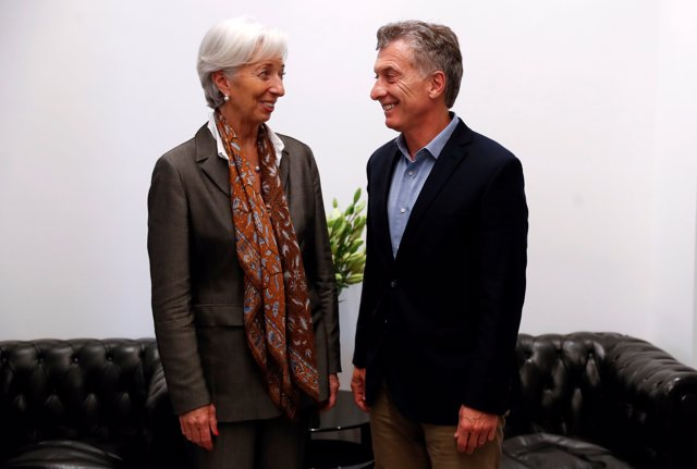 Christine Lagarde, Managing Director of the International Monetary Fund (IMF) an