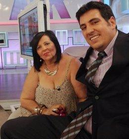 Pilar Abel i el seu advocat Enrique Blánquez