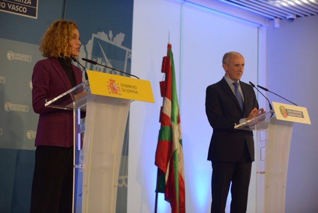 Foto de archivo de la reunión de la Comisión Mixta de Transferencias