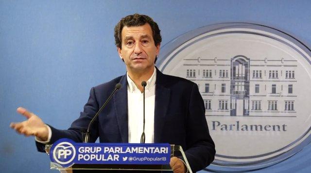 El portavoz del PP en el Parlament, Biel Company