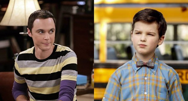 The big Bang Theory/ El Joven Sheldon