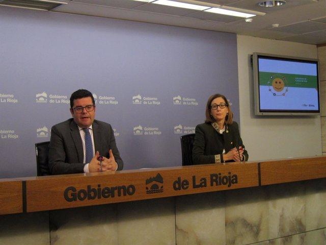 Domínguez Y Ríos, En La Rueda De Prensa