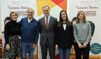 ATRESMEDIA y la Fundación Aladina, unidas para apoyar a los niños con cáncer