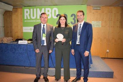 Santander recibe el Premio a las Buenas Prácticas Locales por el Clima