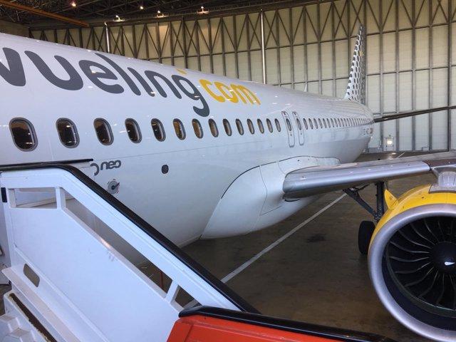 Imagen de archivo de un avión Airbus 'A320' de Vueling
