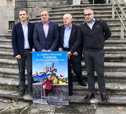 El documental 'El Camino Ignaciano en Euskadi' recorre las etapas de la ruta y reivindica su valor cultural