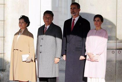 Winnie the Pooh 'vetado' de la Puerta del Sol durante la visita de el presidente de China en Madrid