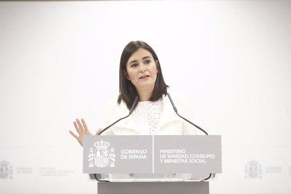 """Carmen Montón: """"Estoy contenta de que todo haya terminado y de que se confirmen mis explicaciones"""""""