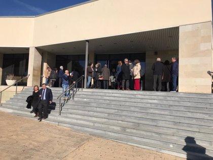 Autoridades, entidades empresariales y sindicales de Huelva muestran su pesar por la muerte de García Palacios