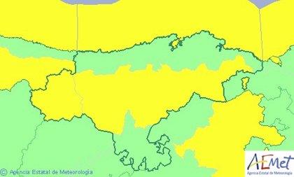 Cantabria, en riesgo por vientos de hasta 90 km/h y oleaje