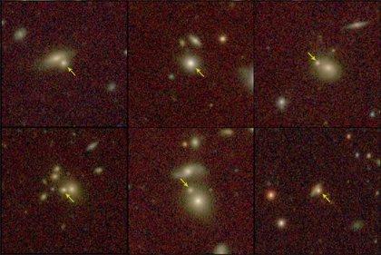 Identifican siete nuevas galaxias reliquias del Universo temprano