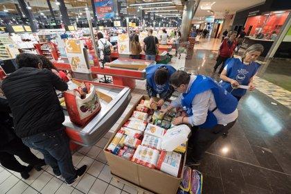 Eroski y sus clientes donan 6.150 toneladas de alimentos para familias necesitadas en lo que va de año