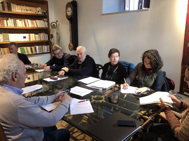 Reunión de la Comisión de Patrimonio de León 28-11-2018