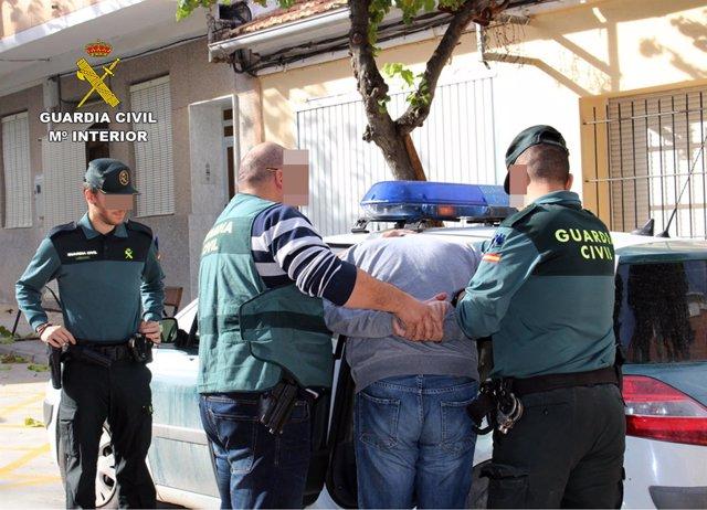 Guardia Civil desmantela un grupo criminal dedicado a la comisión de robos