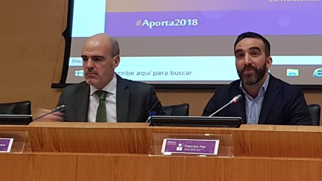 José Antonio Benedicto y Francisco Polo inaugura el Encuentro Aporta 2018