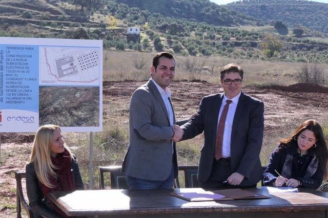 Acuerdo para la subestación eléctrica de El Condado