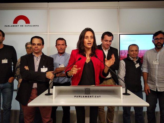 La diputada del PSC Esther Niubó