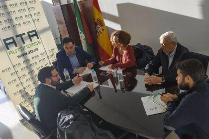Adelante Andalucía aborda con ATA los problemas de los autónomos y le presenta sus propuestas