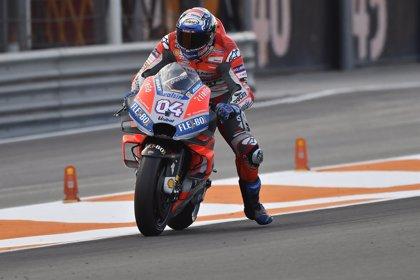 Petrucci y Dovizioso ponen la Ducati al frente en el primer test de Jerez