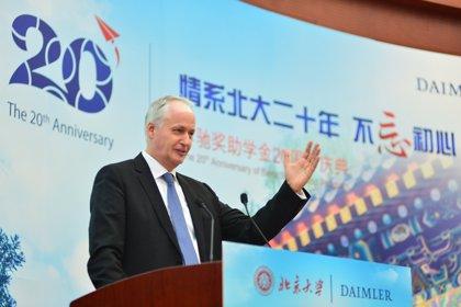 Daimler empezará a fabricar vehículos eléctricos en China en 2019