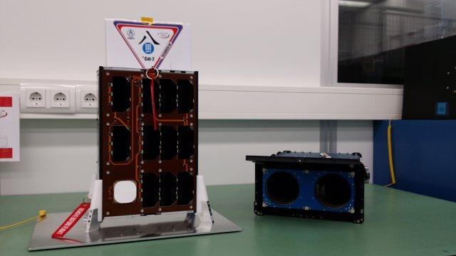 Nanosatèl·lit de la UPC CubeCat-2 (arxiu)