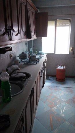 Incendio en una cocina de Puerto Real