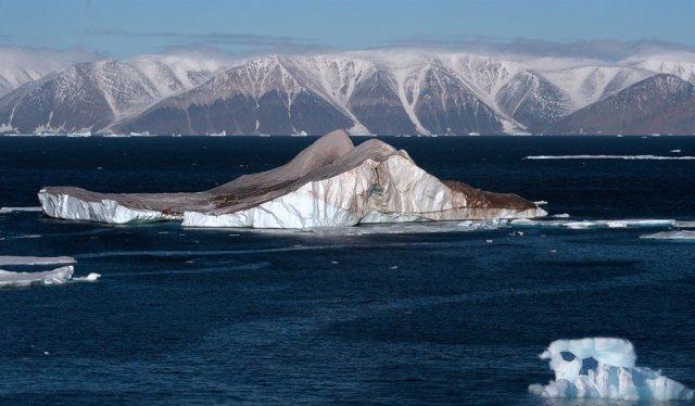 Icebergs en el Ártico