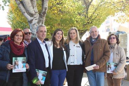 Teresa Alonso afirma que el PSOE es el único que tiene un proyecto de futuro para Andalucía