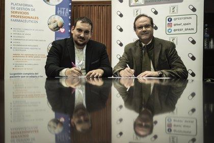SEFAC y FEEF renuevan su convenio para realizar actividades conjuntas en farmacia asistencial