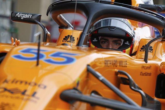 El piloto español de Fórmula 1 Carlos Sainz