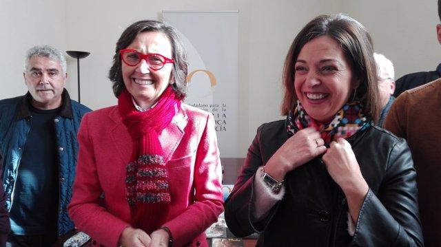 Rosa Aguilar e Isabel Ambrosio