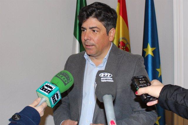 El alcalde de Montilla, Rafael Llamas