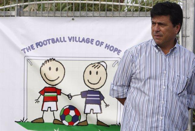 El entrenador Daniel Passarella