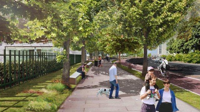 Futuro parque cenrtral de Mairena