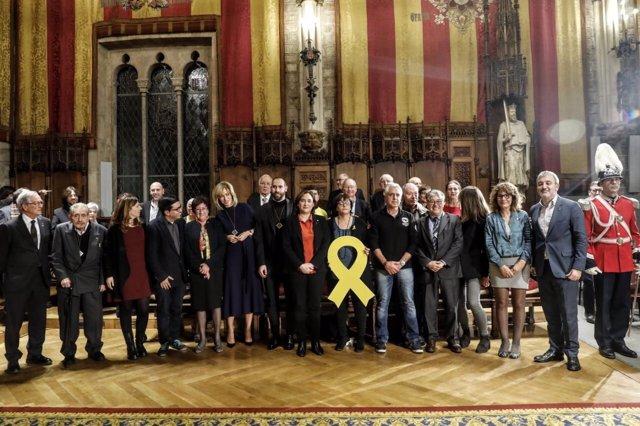 Entrega de la Medalla d'Honor de Barcelona